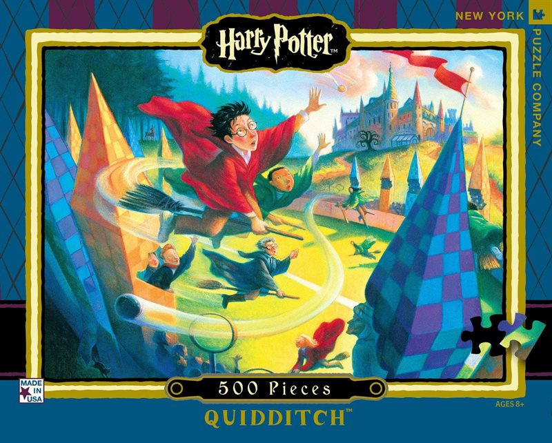 Pussel 500 bitar Harry Potter, Quidditch